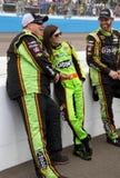 NASCAR Danica Patrick på den Phoenix Internationalkapplöpningsbanan Royaltyfri Fotografi