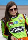 NASCAR Danica Patrick at Phoenix International Raceway royalty free stock photography