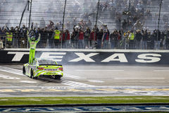 NASCAR: 10 de abril Duck Commander 500 Foto de Stock Royalty Free