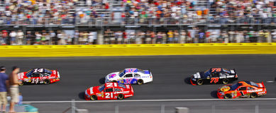 NASCAR - de Amerikaanse Autorennen van de Voorraad Royalty-vrije Stock Foto