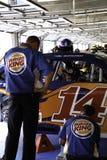 NASCAR - de auto van Tony Stewarts #14 Stock Afbeeldingen