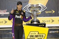 NASCAR: 15 de febrero Sprint ilimitado imagenes de archivo