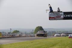 NASCAR: 21 de junho Gardner Denver 200 ateado fogo acima por Johnsonville Fotografia de Stock