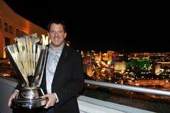 NASCAR: De Kampioen \ 's van de Reeks van de Kop van de sprint stock afbeelding