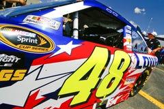 NASCAR - de Kampioen van de Kop van de Sprint van 4 Keer #48 Stock Afbeelding