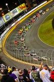 NASCAR - De lado a lado por sua vez 2 Charlotte Fotos de Stock