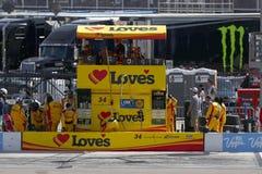 NASCAR: 12 de março Kobalt 400 Imagens de Stock