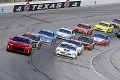 NASCAR: 4 de novembro AAA Texas 500 fotografia de stock royalty free