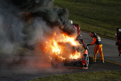 NASCAR: 20 de noviembre FORD EcoBoost 400 Fotos de archivo libres de regalías