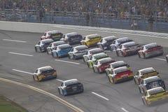 NASCAR 2013:  De Reeks Aarons 499 05 van de sprintkop MEI Royalty-vrije Stock Foto