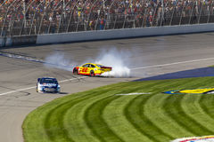 NASCAR 2013:  De Reeks Zuiver Michigan 400 18 van de sprintkop Augustus Stock Afbeeldingen
