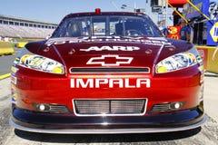 NASCAR - de Rode omhoog Dichte Impala van Gordon #24 Stock Foto