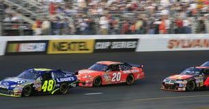NASCAR - de Slag van Kampioenen in N Royalty-vrije Stock Foto