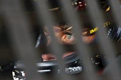 NASCAR:  Denny Hamlin LifeLock.com 400 Royalty Free Stock Image