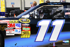 NASCAR - Denny Hamlin's #11 at the 600 Royalty Free Stock Images