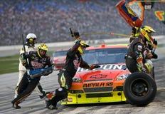 NASCAR : Dickies 500 du 8 novembre Images libres de droits
