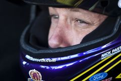 NASCAR : Dispositif protecteur d'air du 10 septembre 400 Photographie stock