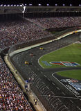 NASCAR - down the front stretch 2 Stock Image