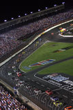 NASCAR - down the front stretch! Royalty Free Stock Photos