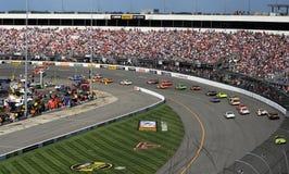 NASCAR - Drehen Sie 1 in Richmond lizenzfreies stockbild