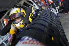 NASCAR: Drev för Juni 02 amerikanska motorförbundet 400 för autism Fotografering för Bildbyråer