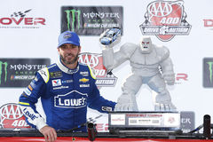 NASCAR: Drev för Juni 04 amerikanska motorförbundet 400 för autism Royaltyfri Foto