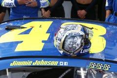 NASCAR: Drev för Juni 04 amerikanska motorförbundet 400 för autism Fotografering för Bildbyråer