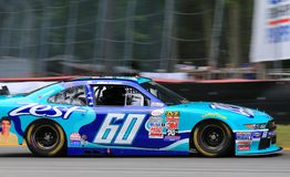 NASCAR Driver Chris Buescher  on the track Royalty Free Stock Images