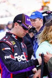 NASCAR Driver Denny Hamlin Royalty Free Stock Photos