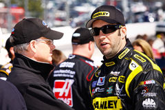 NASCAR Driver Elliott Sadler Pre Race Stock Images