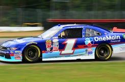 NASCAR Driver Elliott Sadler on the track Stock Images