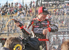 NASCAR Driver Jeff Gordon in Victory Lane Stock Photo