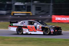 NASCAR Driver Jeremy Clements on the course Stock Image