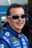 NASCAR driver Kurt Busch. Kurt Busch, former NASCAR champion and current driver of the #2 Miller Lite Dodge Car of Tomorrow in the garage area before heading out stock image