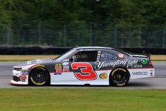 NASCAR Driver Ty Dillon on the course Royalty Free Stock Photography