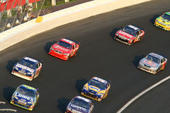 NASCAR Drivers at Lowes Motor Speedway stock images