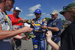 NASCAR: Dueños 400 de Toyota del 28 de abril Imagenes de archivo