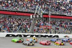 NASCAR : Duel 1 du 11 février Gatorade Photos libres de droits