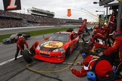 NASCAR : Duel 1 du 11 février Gatorade Images libres de droits
