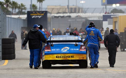 NASCAR : Duel 2 du 11 février Gatorade Images libres de droits
