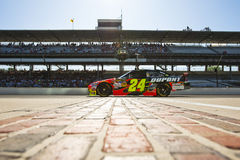 NASCAR:  DuPont chevrolet Allstate 400 Royalty Free Stock Photo