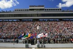 NASCAR e os forças armadas   foto de stock