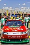 NASCAR - Edward's Car Waiting for Inspection Stock Image