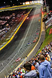 NASCAR - El competir con en Charlotte Fotos de archivo libres de regalías
