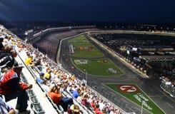NASCAR - Elevação acima de LMS 2 imagem de stock