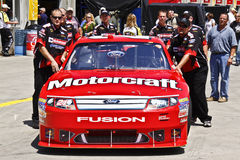 NASCAR - Elliott's Car Headed to Inspection Royalty Free Stock Photography