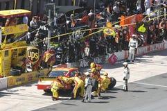 NASCAR em Bristol foto de stock
