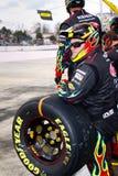 NASCAR - Equipo de hueco del guerrero del arco iris de Gordon Fotos de archivo libres de regalías