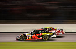 NASCAR - Es ist Mears durch eine Wekzeugspritze Stockfoto