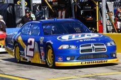 NASCAR - Espediente del Miller Lite del Keselowski Immagine Stock Libera da Diritti